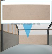 88130-1x-muurdeel-Blank-250-x-80-x-3-mm-kaal-hout-t.b.v.-(bewaar-)-loods-stal-kantoor-huis-1:32-EXPECTED