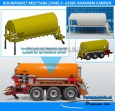 25052-Carrier-Mesttank-+-hefinrichting-bouwpakket-t.b.v.-(Jan-Veenhuis)-Haakarm-carrier-bouwpakket-basis-1:32