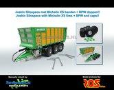 Rebuilt-Joskin-Silo-Space-20-40-Op-Michelin-XS-banden-ROS-1:32-RS602022-D
