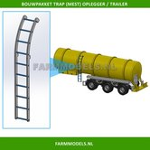28166-Trap-zijkant-t.b.v.-mest-oplegger-mesttank-Bouwkit-geschikt-voor-o.a.-Mestoplegger-trailer-&-Mesttank-1:32
