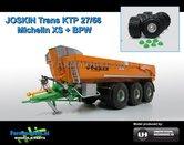 Rebuilt-JOSKIN-Trans-KTP-27-65-TRM-Op-Michelin-XS-banden-3-asser-halfpipe-gronddumper-1:32-UH4268DEALER-R