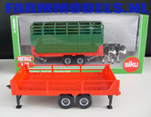 70131-Siku-vee-aanhanger-rood-groen