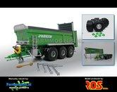 JOS-7632-B-Verbouw:-3-asser-Joskin-FERTISPACE-+-Michelin-XS-Banden-+-BPW-einddoppen-mestverspreider-1:32-Handmatig-verbouwd-Manually-rebuilt-RS602205-3-Mich
