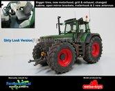 50144-B-S-T-A-M-C-SL:-Fendt-822-Turboshift-+-Stoflook-grotere-banden-+-motorkap-nieuw-+-spiegels-+-trekhaak-+-Antennes--1:32-WeiseToys-Handmatig-verbouwd-Manually-rebuilt