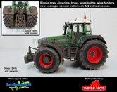 Fendt-930-Vario-Gen.-III-Stoflook-Brede-banden-+-spatborden-+-trekhaak-+-Zwaailampen-+-Antennes--1:32-WeiseToys-Manually-rebuilt---EXPECTED
