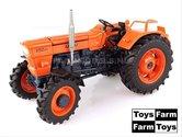 ORANJE-velgen-Fiat-850-DT-(1969)--4WD-ZONDER-Cabine--1:32---UH5297-Toys-Farm