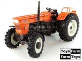 WITTE-velgen-Fiat-850-Super-DT-(1972)--4WD-ZONDER-Cabine-1:32--UH5299-Toys-Farm