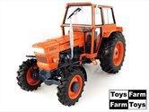 ORANJE-velgen-ORANJE-Cabine-Fiat-850-DT-(1969)-4WD--1:32---UH5298-Toys-Farm