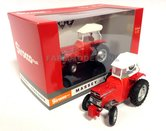 RED-Sirocco-Massey-Ferguson-135-met-RODE-Sirocco-Cabine-L.Ed-1000-Rood-wit-Jas-&-Pet-1:32-UH5292MF-Roodwit