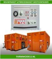 24952-Uitbreidingsset-Mest-container-overslag-container-Bouwset-VMR-Veenhuis-ZHE-Record-1:32