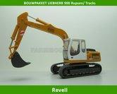 60003**-BOUWPAKKET-Liebherr-900-Litronic-op-rupsen-(tracks)-1:32-OP=OP