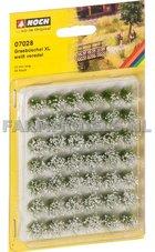 76228-Grasbosjes-XL-witte-bloemen-(07028)