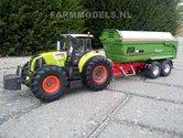 416.-Claas-Axion-850-&-USA-2000-kipper-op-Michelin-Cargo-XBib-Farmmodels-banden-met-aluminium-velgen
