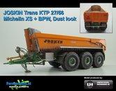 JOS-2766-B-SL--JOSKIN-Trans-KTP-27-65-TRM-Op-Michelin-XS-banden-Dust-look-3-asser-halfpipe-gronddumper-Farmmodels-editie-1:32