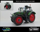 Fendt-724-Vario-op-4-Rijen-Cultuurwielen-Nature-Green-Enkellucht-Rijencultuur-1:32-Handmatig-verbouwd-Manually-rebuilt-50137-TF4---EXPECTED-END-2019
