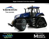 54438**-New-Holland-T8.435-Blue-Power-SmartTrax-+-Vredestein-NH-Half-Track-zeer-gedetaileerd-Marge-Models-1:32