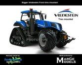 54426**-New-Holland-T8.435-Blue-SmartTrax-+-Vredestein-NH-Half-Track-zeer-gedetaileerd-Marge-Models-1:32
