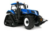54429**-New-Holland-T8.435-Blue-SmartTrax-+-Trelleborg-NH-Half-Track-zeer-gedetaileerd-Marge-Models-1:32-(MM1803)