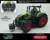 Wiking-Claas-Axion-950-Farmmodels-editie-1:32-Handmatig-verbouwd-Manually-rebuilt