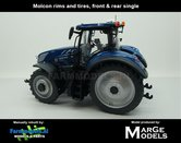 Rebuilt-New-Holland-T7.315-Blue-Power-op-4-Rijen-Cultuurwielen-1:32-TF4