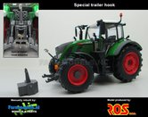 Fendt-718-Vario-+Speciale-Trekhaak-Nature-Green-ROS-Handmatig-verbouwd-Manually-rebuilt-1:32---EXPECTED