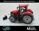 Rebuilt-&-Dirty:-Case-IH-Optum-300-CVX-op-4-Cultuurwielen-STOFLOOK-1:32---MM1608-RD