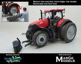 Rebuilt-&-Dirty:-Case-Optum-300-CVX-op-6-Cultuurwielen-STOFLOOK-Achteras-MOLCON-Demontabel-dubbellucht-Rijencultuur-1:32-MM1608-RC6D