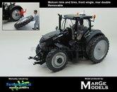 Rebuilt-BLACK:-Case-Optum-300-CVX-op-6-Cultuurwielen-Achteras-MOLCON-Demontabel-dubbellucht-Rijencultuur-1:32--MM1712-RC6