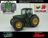 JOH-2575-B-S-T+FG-John-Deere-7710-Farmmodels-editie-+-Free-gift-GPS-JD-7710-Schuco-+-nieuwe-velgen-+-banden-+-spatborden-+-trekhaak-Handmatig-verbouwd-Manually-rebuilt-1:32