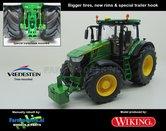 JOH-5065-B-T-John-Deere-7310-Farmmodels-editie-Brede-banden-+-nieuwe-velgen-+-trekhaak-Wiking-2018-Handmatig-verbouwd-Manually-rebuilt-1:32