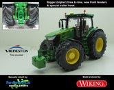 JOH-5151-B-S-T-John-Deere-7310-Farmmodels-editie-Brede-hoge-banden-+-nieuwe-velgen-+-nieuwe-spatborden-voor-+-trekhaak-Wiking-2018-Handmatig-verbouwd-Manually-rebuilt-1:32