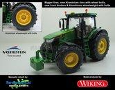 John-Deere-7310-Farmmodels-editie-Brede-banden-+-Aluminium-velgen-+-Wielgewicht-+-nieuwe-spatborden-voor-Wiking-2018-Handmatig-verbouwd-Manually-rebuilt-1:32
