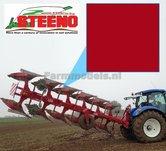 Steeno-ROOD-Farmmodels-series-Spuitbus-Spraypaint-Farmmodels-series-=-Industrie-lak-400ml.-ook-voor-schaal-1:1-zeer-geschikt!!