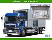 28197-Bouwpakket-Vrachtwagen-Bakwagen-Koelwagen-1:32-(8800)