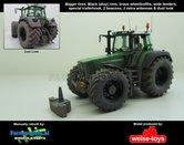 50161-B-S-T-Z-A-BR-SL:-BLACK-Rims-Fendt-926-Vario-G1-Brede-banden-+-spatborden-+-trekhaak-+-Zwaailampen-+-Antennes-+-Dust-look-1:32-WeiseToys-Handmatig-verbouwd-Manually-rebuilt