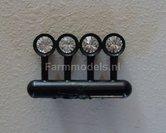 22405-4x-Werklamp-vaste-beugel-Rond-Zwarte-houder-+-Glimmertjes-1:32