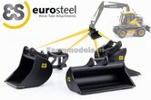 4x-Eurosteel:-4x-bakken--hulpstukken-geschikt-voor-snelwissel--Tiltrotator-6S--S60-Koppeling-1:32---AT3200104
