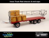 JOS-1415-RED-Joskin-Wago-TR10000T20-met-32-ronde-balen-Rood-chassis-&-end-caps-1:32-UH-2018-UH5225
