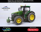JOH-5086-B-S-SL**-John-Deere-7310-Farmmodels-editie-Brede-banden-+-Aluminium-velgen-+-nieuwe-spatborden-voor-+-Dust-Look-Wiking-2018-Handmatig-verbouwd-Manually-rebuilt-1:32