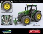 John-Deere-7310-Farmmodels-editie-Brede-banden-+-Aluminium-velgen-+-Wielgewicht-+-nieuwe-spatborden-voor-+-Speciale-Trekhaak-+-Dust-Look-Wiking-2018-Handmatig-verbouwd-Manually-rebuilt