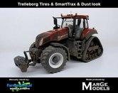 54485-SL**-New-Holland-T8.435-Terracotta-SmartTrax-+-STOFLOOK-+-Trelleborg-NH-Half-Track-Lim.-Ed.-zeer-gedetaileerd-Marge-Models-1:32