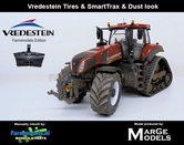 54481-SL**-New-Holland-T8.435-Terracotta-SmartTrax-+-STOFLOOK-+-Vredestein--NH-Half-Track-Lim.-Ed.-zeer-gedetaileerd-Marge-Models-1:32