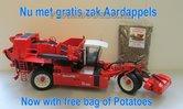 Dewulf-Ra3060-Nu-aan-ROS-prijs-+-gratis-zak-Aardappels-2-Rijige-Zelfrijdende-Bunker-Aardappelrooier-1:32