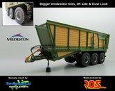56511-BV-LA-SL-Krone-TX-560-D-Silage-Transportwagen-met-Liftas-op-Vredestein-banden-+-Dust-Look-Farmmodels-editie-ROS-1:32