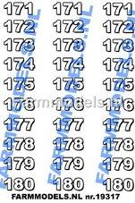 NUM-19315-Nummerset-151-t-m-160--(30-stickers)-Zwart-op-transparant