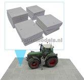 86090-25x-Beton-platen-Stelconplaten-(kleiner)-Beton-Grijs-1:32-(23375)-Juweela