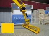 Herder-GEEL-Spuitbus-Spray-paint-Farmmodels-series-=-Industrie-lak-400ml.-ook-voor-schaal-1:1-zeer-geschikt!!