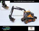 Dirty:-Volvo-EWR150E-kraan-NOKIAN-banden-+-Tiltrotator-S6-S60-snelwissel-+-bak-1:32---AT3200101-D