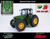JOH-2550-T+FG-John-Deere-7710-4WD-+-Special-trailer-hook-+-FREE-GIFT-JD-GPS-1:32-zonder-fronthef-Schuco-2018-SCH07722