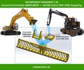 64395-68031-Maaikorf-+-2x-snelwisselkoppeling-bouwkit-geschikt-voor-S6-S60-&-Farmmodels-68000-68025-snelwissels-1:32